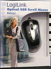 kleine handliche Logilink usb mouse für notebook laptop optisch neu ovp m. Kabel