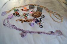 Mixed costume jewellery pieces NEW x 50