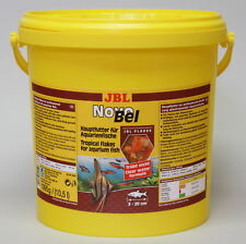 JBL NovoBel 10,5 l, Hauptfutter-Flocken für alle Aquarienfische