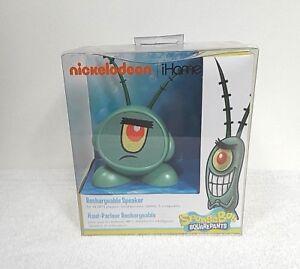 Nickelodeon Spongebob Squarepants Rechargeable Speaker By iHome