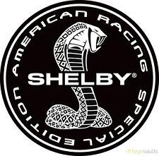 Carroll Shelby Ac Cobra Ford Gt Gt40 Gt350 Gt500 Mustang Vinyl 4 stickers