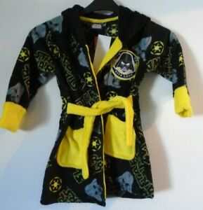 Star Wars Darth Vader Sith Lord Boys Dressing Gown Age 4 Years NEW