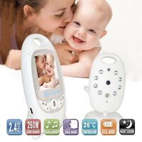 Wireless 2.4GHz Digital Color LCD Baby Monitor Camera Night Vision Audio Video E