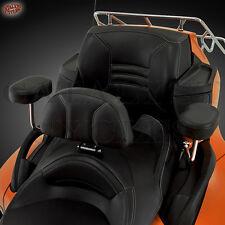 Can Am Spyder Backrest 41-168 Show Chrome Smart Mount Large BackRest - Spyder RT