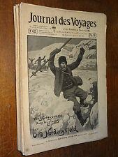 JOURNAL DES VOYAGES - ANNÉE 1905 - LOT DE 52 NUMÉROS - ROMANS POPULAIRES