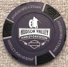 Hudson Valley Harley-Davidson® in Nanuet, NY Collector Poker Chip Purple/Black