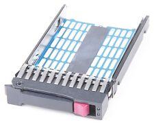 "HP 2.5"" SAS SATA Hot Swap Festplatten-Rahmen HDD Tray 500223-001 371593-001"
