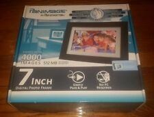 Pandigital Panimage 7 Inch Digital LCD Photo Frame 512MB DIGITAL 4000 Photos NEW