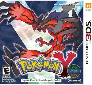 3DS - Pokemon Y (UAE) - Nintendo 3DS
