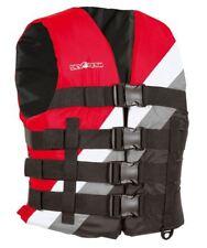 Devocean Vest Ski / Wakeboard Vest Buoyancy Aid Red - S/M Life Jacket Lifejacket