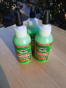 3 New Slime To Go Tube Sealant 4 oz each