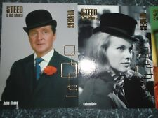 strictly inkTHE AVENGERS Series 2 steed and his ladies 4 card insert set f1-f4