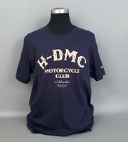 "NWT Harley Davidson Navy Blue Men's T.Shirt ""Milwakee-USA"" Size.XL -100%Cotton"