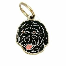 Dog name ID Tag,  Portugese water dog, Personalised, Engraved, Handmade