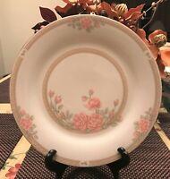 "CROWN MING FINE CHINA JIAN SHIANG CHRISTINA PATTERN 10.5"" Dinner Plates Set Of 4"