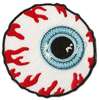 Patch écusson blason patche Oeil Horreur Yeux thermocollant