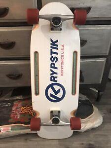 Vintage 80s Kryptonics Krypstik Skateboard