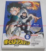 Boku no My Hero Academia 2nd Vol.6 Limited Edition Blu-ray CD Booklet Card Japan