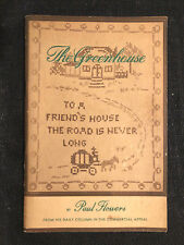 Memphis, Commercial Appeal, THE GREENHOUSE, CUTTINGS FROM ANOTHER.. Paul Flowers