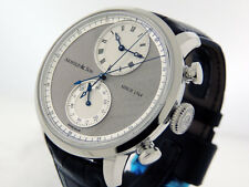 """Arnold & Son  CTB """"True Beat Seconds""""1CHAS.S02A.C121S 44mm $27,500 NIB"""