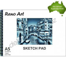 A5 Sketch Pad 140gsm Atrist Painting Art Paper Sketchbook  Drawing Craft Pastel