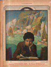 1922 Ladies Home Journal March - N C Wyeth; Albert Payson Terhune; Marquand;