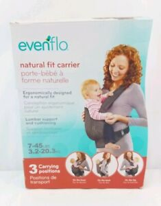 Evenflo Natural Fit Baby Carrier New