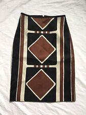 New JCREW Collection Silk Wool Skirt In Raddi Diamond Print F9309 Sz00 SOLD-OUT
