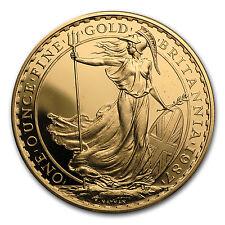 1987 Great Britain 1 oz Gold Britannia Proof - SKU #12981