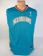 Reebok NBA New Orleans Hornets Teal Basketball Jersey Youth Boy's XL 18-20 NWT