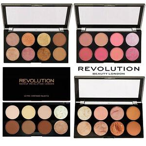 Makeup Revolution Blush Highlight Bronzer Contour Powder Palettes