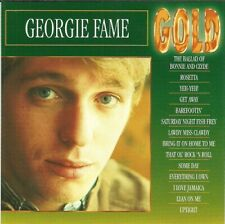 Gold; Georgie Fame 1993 CD, British R&B, Jazz Vocals, Import Very Good