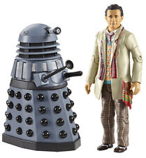*NEW* Dr Who 7th Doctor & Dalek Twin Figure Set Remembrance of The Daleks McCoy