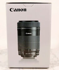 CANON EFS 55-250 f/4-5.6 IS STM NEW OPEN BOX LENS