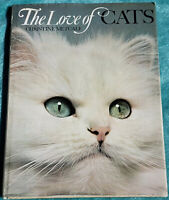 The Love Of Cats 1973 Jumbo Hardcover 96 Pages Loaded With Beautiful Kitty Cats