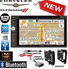 2009-2012 DODGE RAM Jensen Navigation Double Din DVD Radio Stereo bluetooth bt