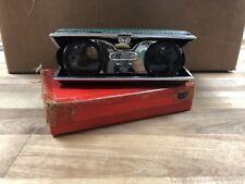 New listing Vintage Folding Opera Glasses 2.5X Original Box. no. 185 Rare Japan Green