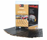 "Hushmat 10200 Ultra Door Kit Black-ten 12""x12"" Sheets [10 Sq. Ft.]"