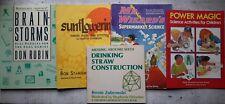 SCIENCE Homeschool Educational Children's Kids Puzzle Experiments Books LOT 5