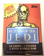 STAR WARS VINTAGE WRAPPER (PLATE) /99 (Series 2) C3PO - Return of the Jedi 40th