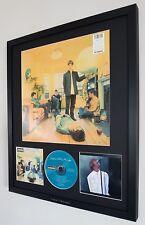 OASIS Framed Original Album Artwork & Original CD Definitely Maybe RARE