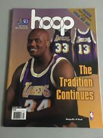 Nba Hoop 1996 Magazine Shaquille O Neal Mint Rare No Label Los Angeles Lakers
