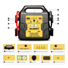 24000mAh 1000A Auto Jump Starter Booster Akku Ladegerät Starthilfe Power Bank DE