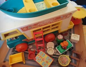Fisher Price Little People Play Family camper  1972 Vintage spares repairs