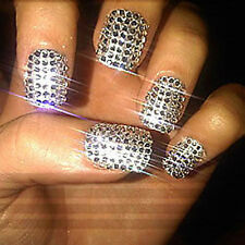 1650 pc 1.5mm CLEAR ROUND RHINESTONES NAIL ART diamante crystal GEMS DIAMOND