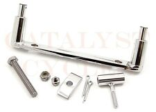 Chrome Solo Seat Mounting Bracket for Harley Softail Seat Mount Custom Solo Seat