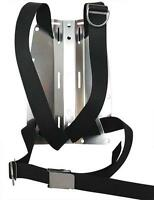 DIR type harness with choice of backplate. Choice of colours. Red Hat Diving