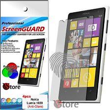 4 Film Matt For Nokia Lumia 1020 Anti-fingerprint Films Save Screen LCD