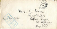 GB MAY 1919 WORLD WAR 1 SOLDIERS POST ENVELOPE FIELD POST OFFICE & CENSOR CAN