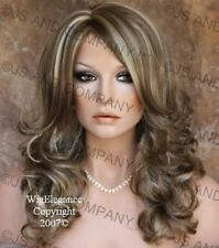 WAVY Layered Sexy New Ash Blonde Golden mix FULL Wig JSBD 18-22